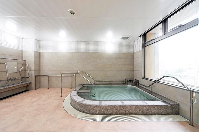 院内のお風呂はすべて天然温泉です!